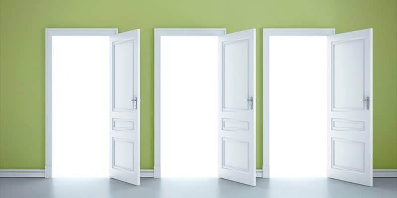 puertas abiertas al dinero